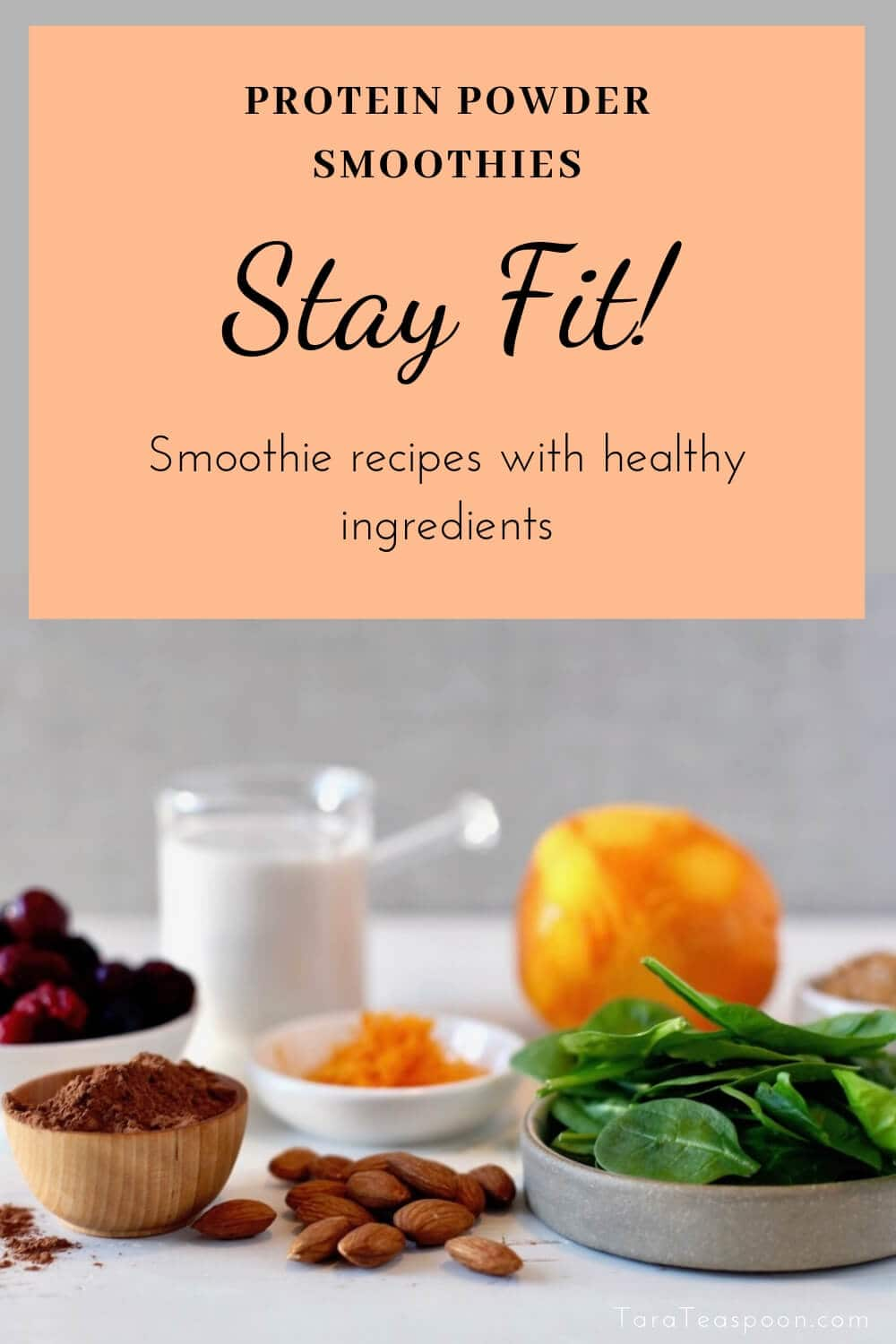 smoothie ingredients pin