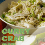 curry crab dip pin