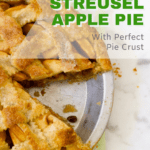 pecan streusel apple pie pin
