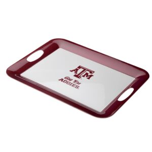 Texas A and M aggies plastic tray