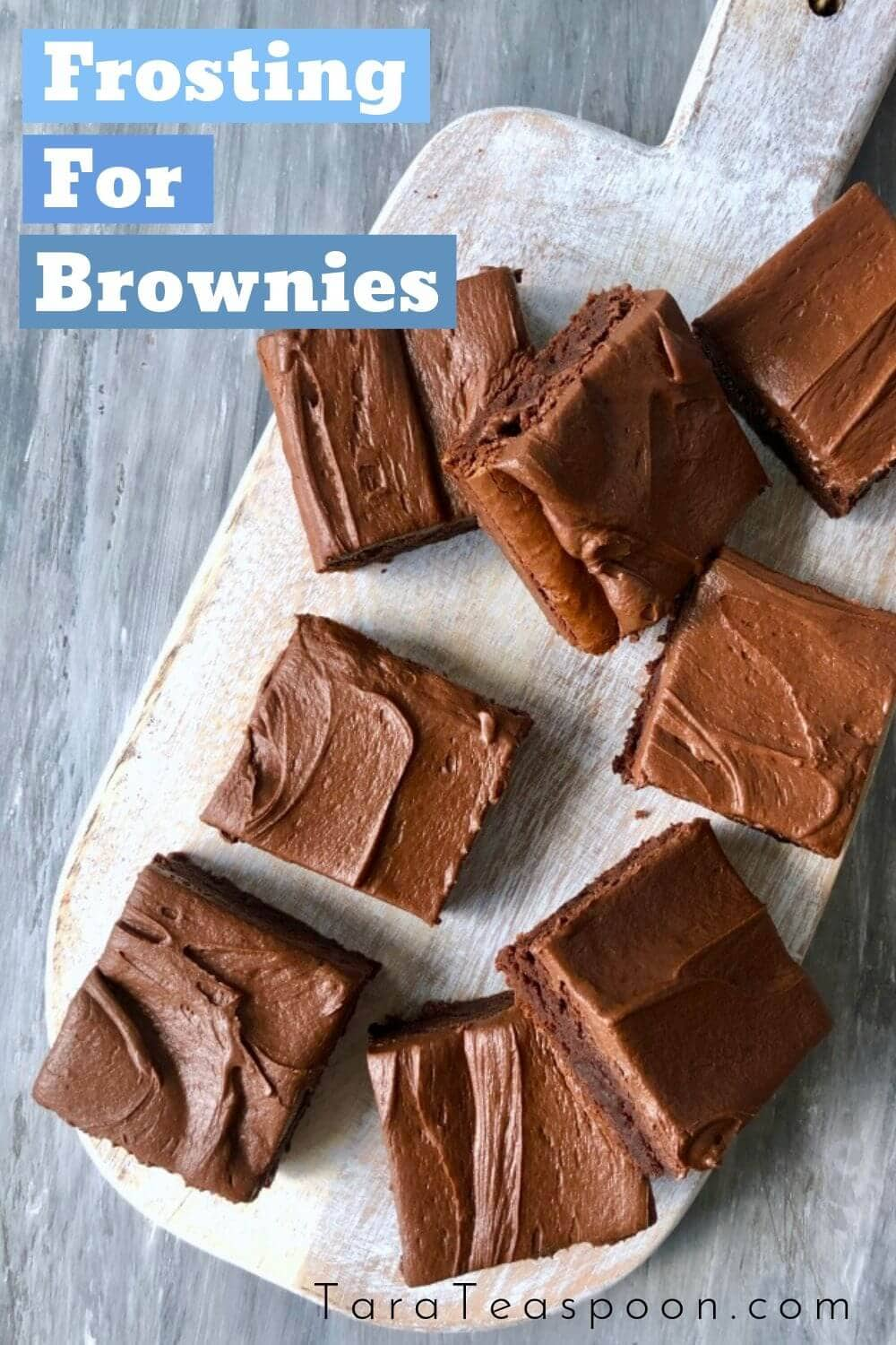 frosting for brownies pin