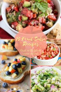 15 mind blowing fruit salsa recipes pin