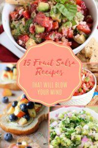 15 mind blowing fruit salsa recipes pin