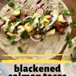 blackened salmon tacos pin 2