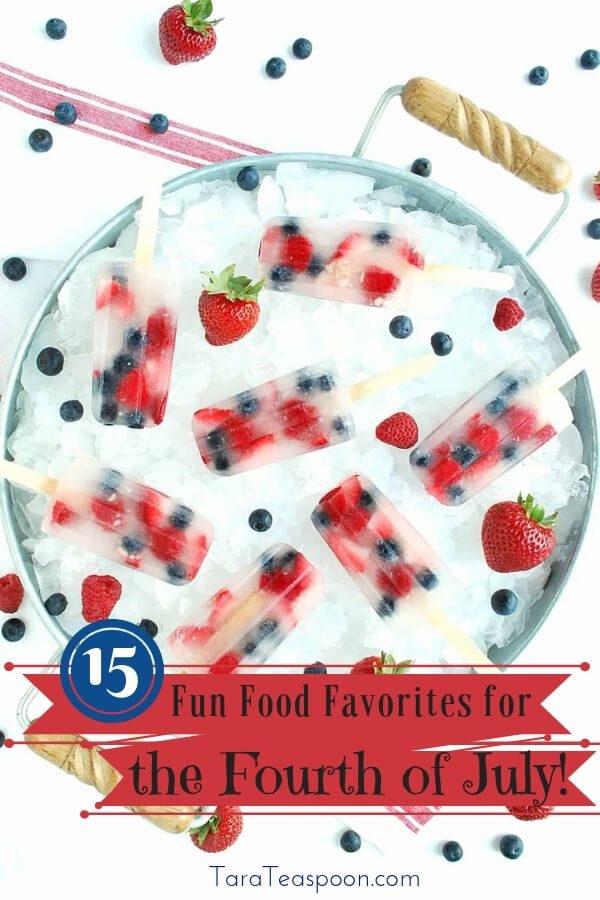 15 fun food favorites for fourth of july pin