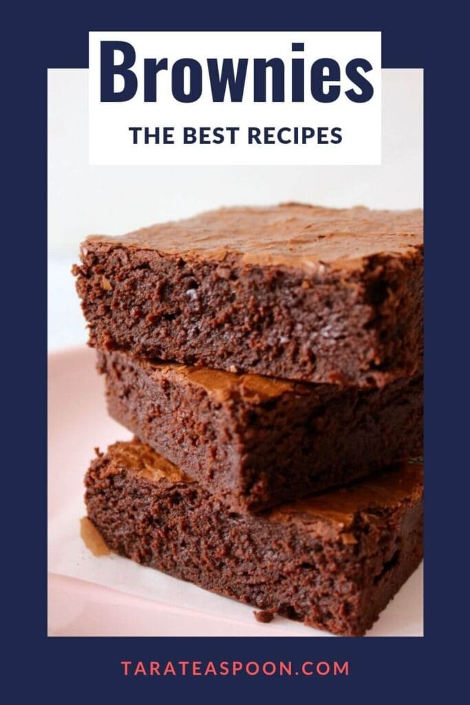 the best brownie recipes pin