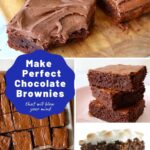 make perfect chocolate brownies pin
