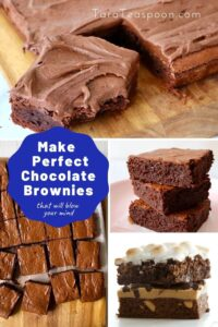 make perfect chocolate brownies pin