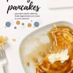 pantry pancakes made from ingredients from your pantry pin