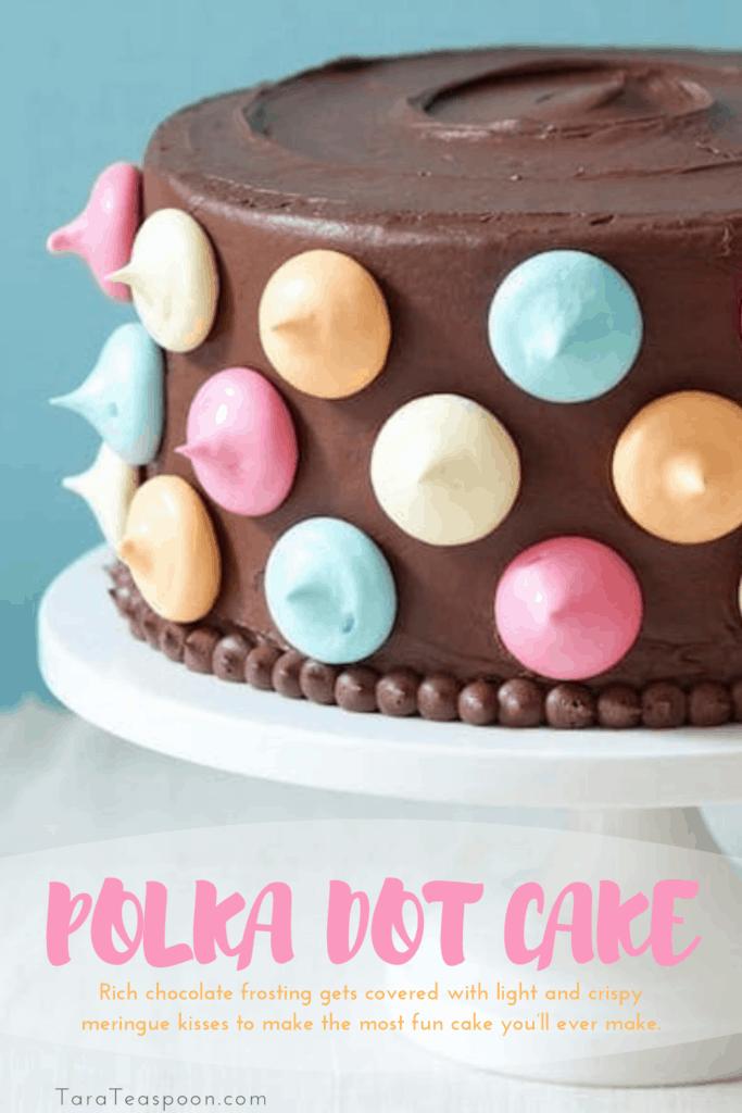 Polka Dot Cake Pin 2