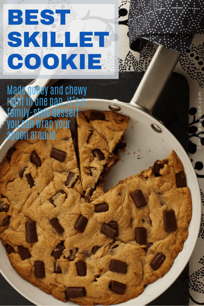best skillet cookie pin