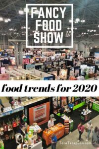 fancy food show food trends for 2020 pin