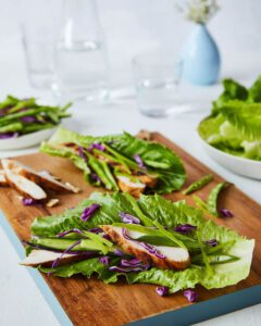 chicken lettuce wraps no dressing