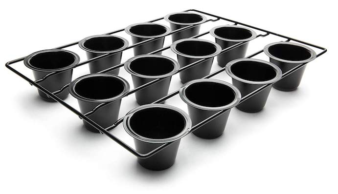 popover pan with 12 cups