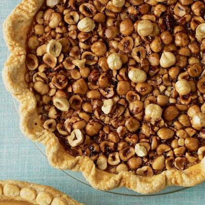 Hazelnut Pie recipe card image