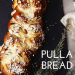 Pulla Bread or Finnish Cardamom Braid