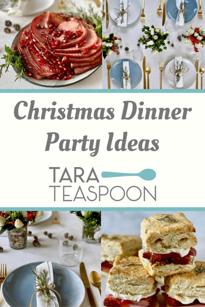 Christmas Dinner Party Ideas One Holiday Grocery List Tara Teaspoon