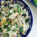 Chicken Rice Lettuce Wraps Pinterest pin