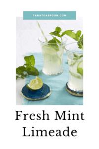 Fresh Mint Limeade cups pin
