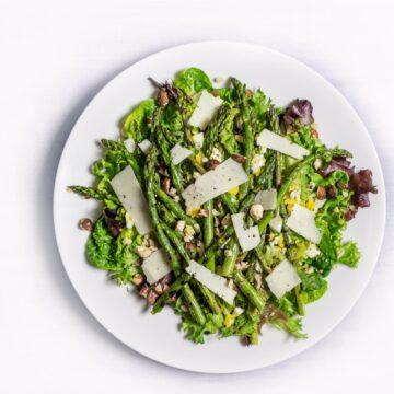 Spicy Air Fryer Asparagus Recipe