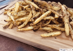 Air Fryer Rutabaga Fries