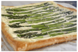 Asparagus Tart with Ricotta and Lemon