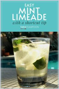 fresh mint limeade pin