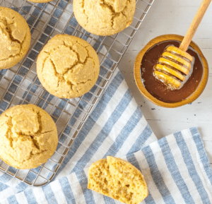 Gluten Free Cornbread Muffins Recipe (Dairy Free too!)