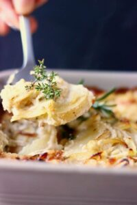 Vegan Scalloped Potatoes (Gluten-Free)