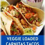 Vegetable Loaded Carnitas Tacos Pinterest Pin
