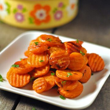 Orange Candied Carrots