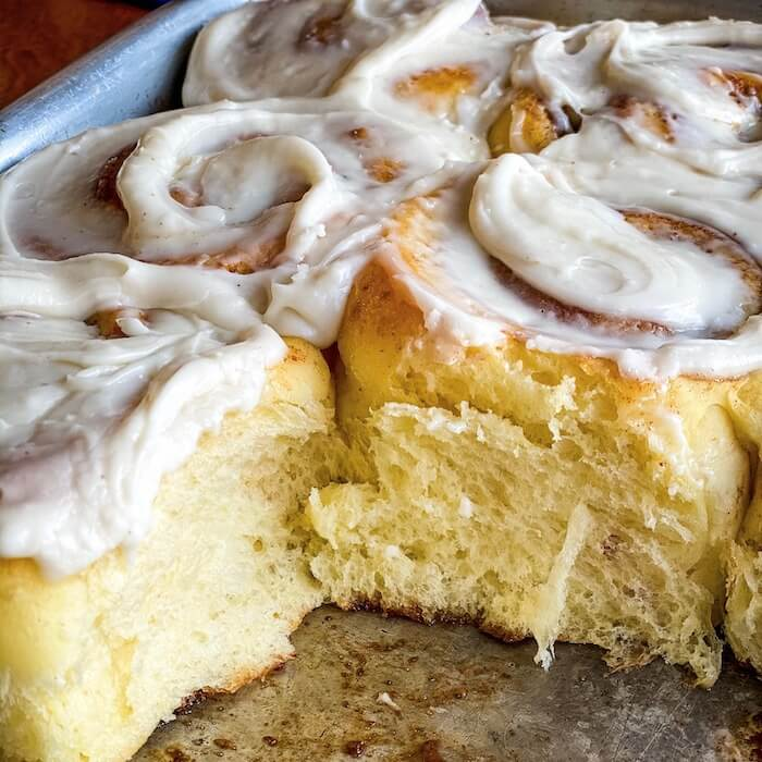 Make Super Soft Tangzhong Cinnamon Rolls Tara Teaspoon