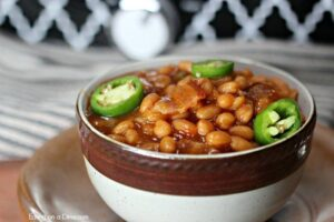 Lazy Day Crock Pot Baked Beans Recipe