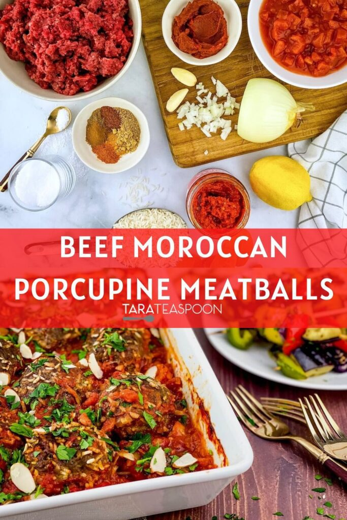 beef moroccan porcupine meatballs pin 2