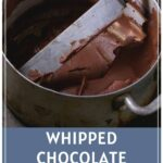 Whipped Chocolate Ganache Pinterest Pin