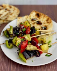 Moroccan Vegetable Kabobs