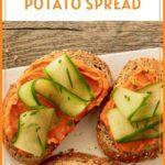 Toasts with Sweet Potato Spread Pinterest Pin