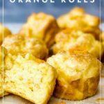 gluten-free orange rolls pin
