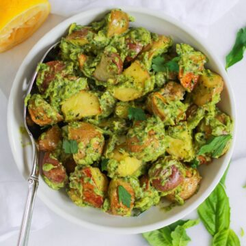 Healthy Herbed Potato Salad