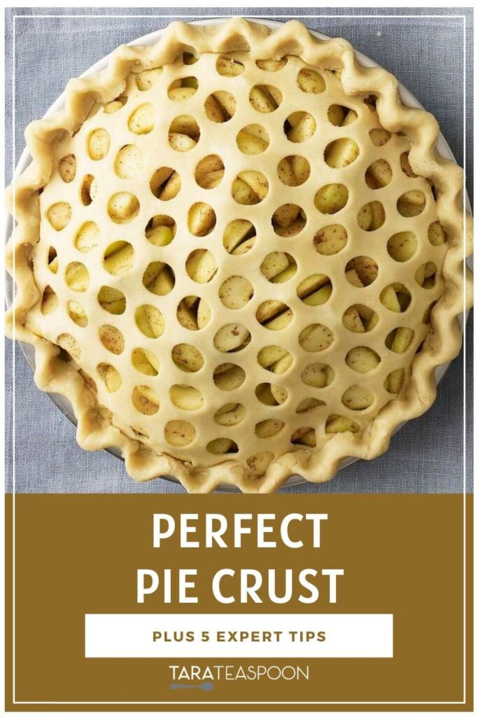 Perfect Pie Crust Pinterest Pin
