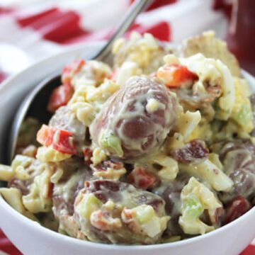 Roasted Red Potato Salad with Bacon