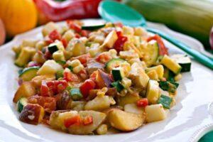 Potato Salad on a plate