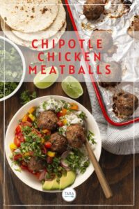chicpolte chicken meatballs pin