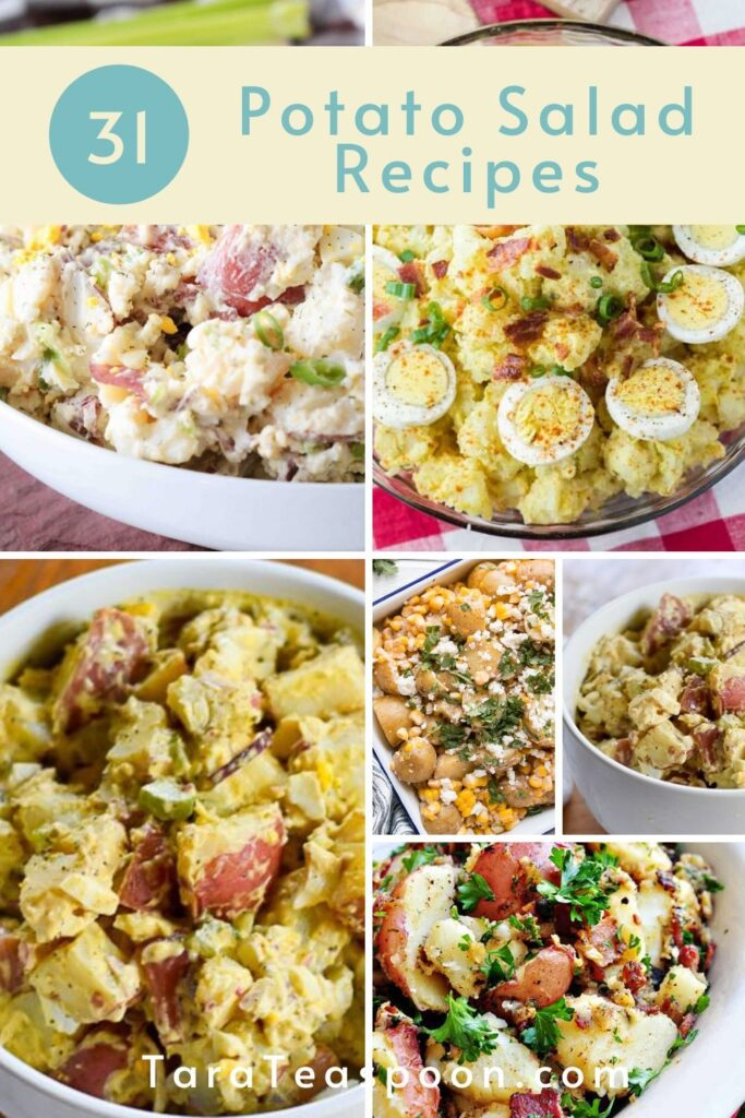 recipes for potato salad pin