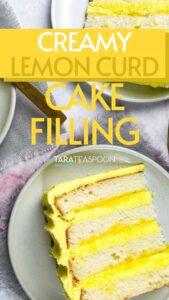 lemon curd cake filling recipe pin