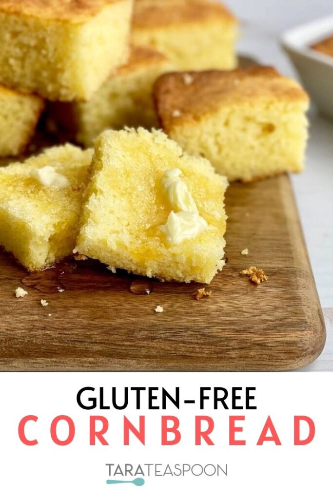 Sweet Gluten-Free Cornbread pin