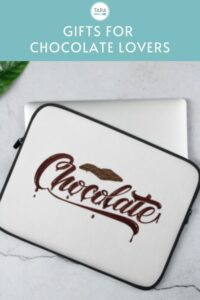 Pin Image for Chocolate Lover Laptop Sleeve