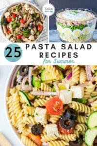 easy pasta salad recipes pin