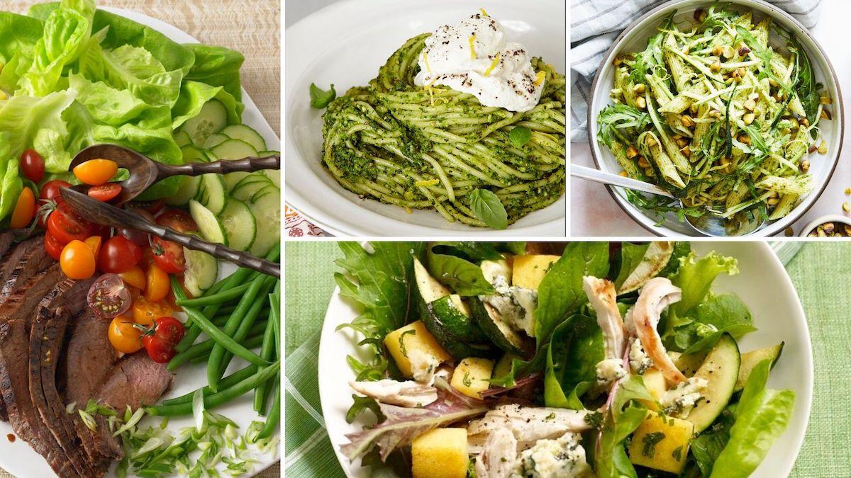 veggie dinners collage image