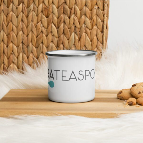 Tara Teaspoon Enamel Mug